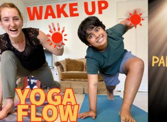 Wake up yoga!