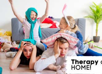 Therapy Ideas For YOU At Home!